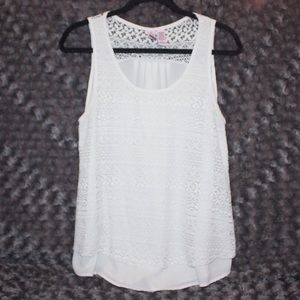 Lace Thick Strap Tank Top [Love on a Hanger]